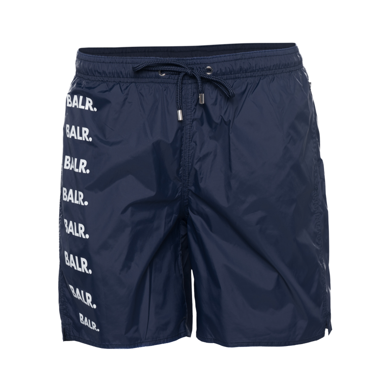 Brand Repeat Swim Shorts Navy