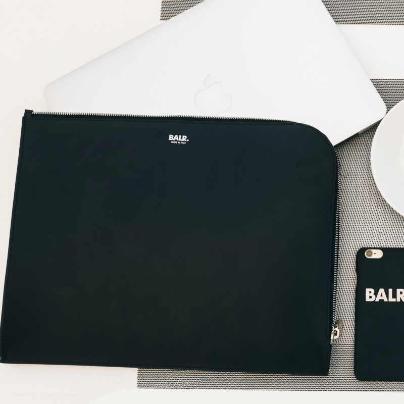 Leather Laptop Sleeve Lifestyle