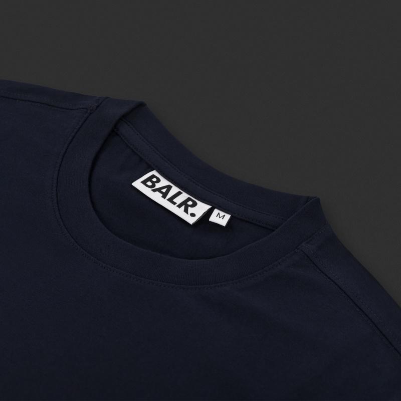 Navy Blue Flag Shirt Detail