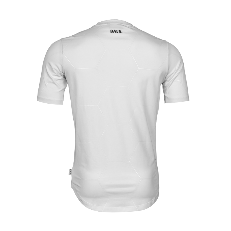 White Signature Panel Shirt Back