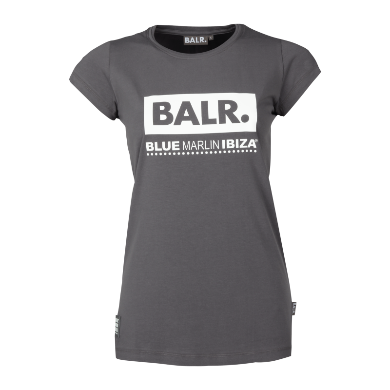 BALR. x BMI Women Club Shirt Grey