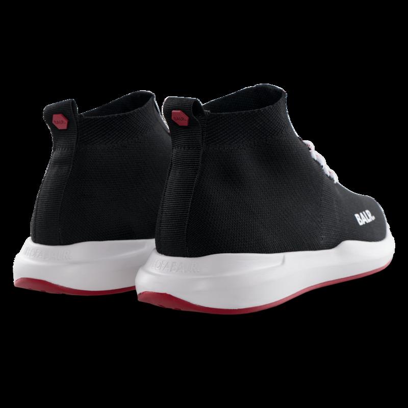 EE Premium Low Sock Sneaker Black/Red