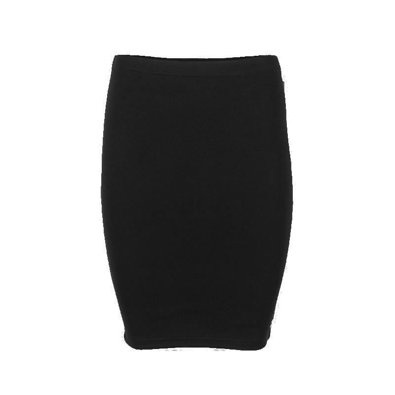Women Zipped Skirt Front