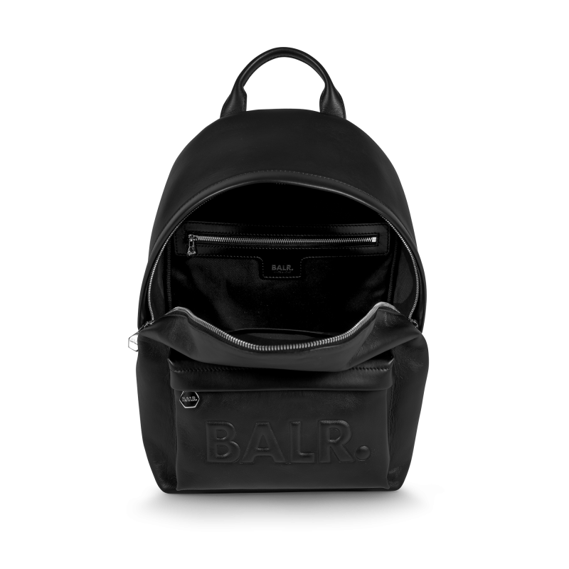 Leather Petite Backpack Inside