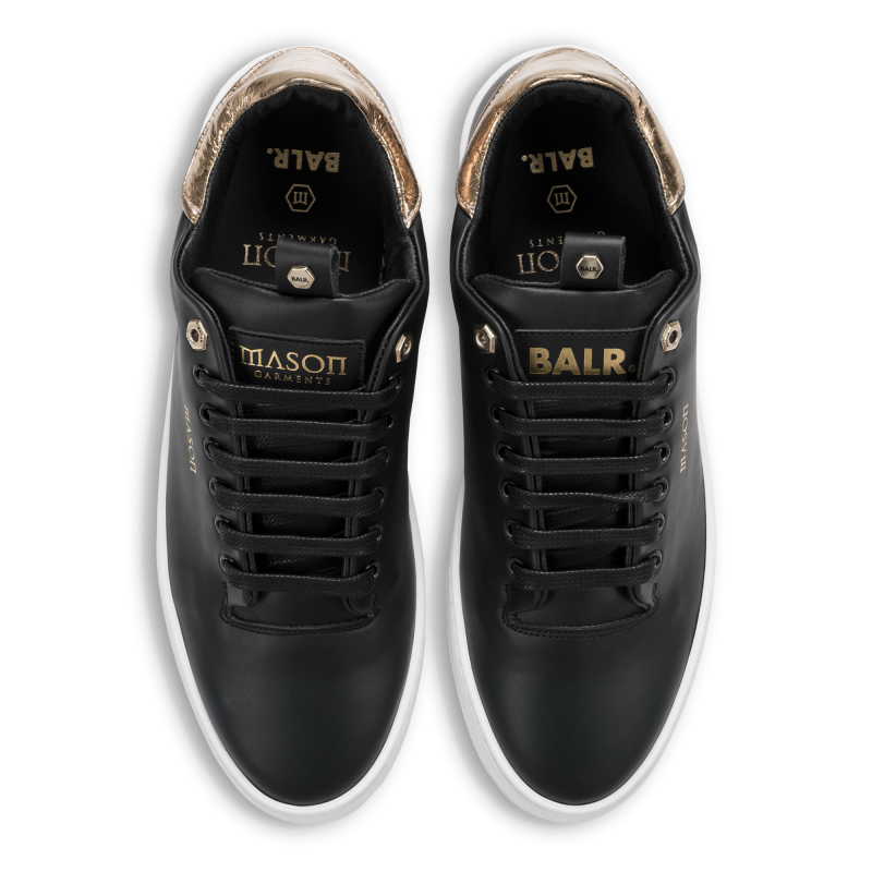 Bovenkant BALRxMasonGarments Roma Sneakers Zwart