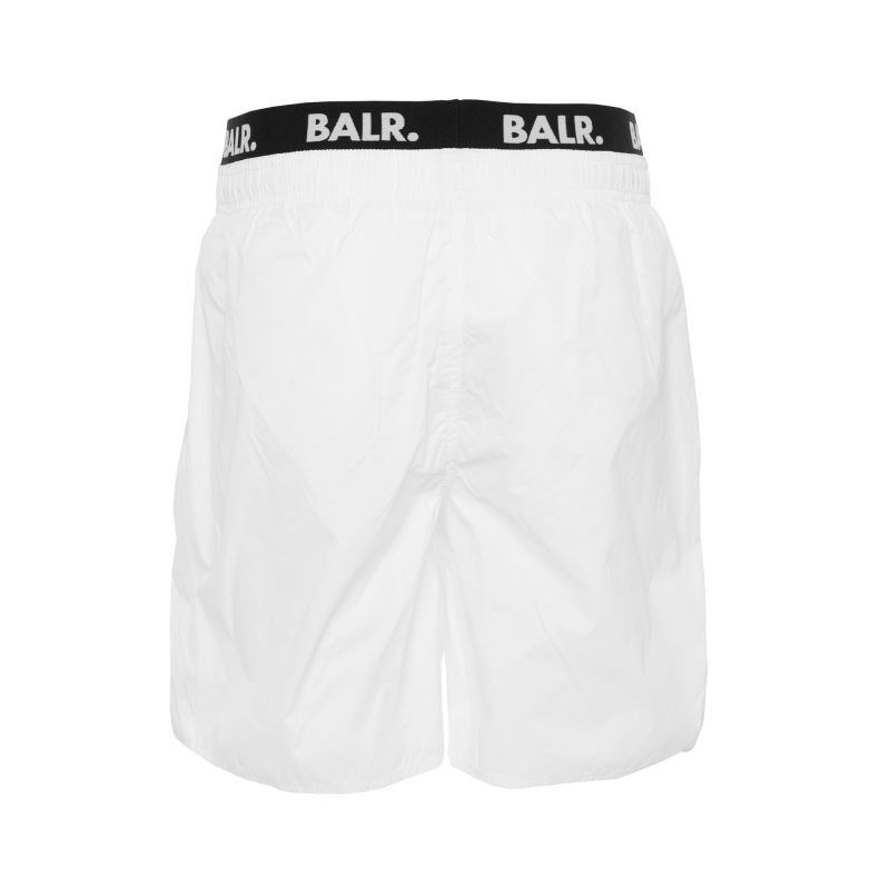 Club Trunks Swim Shorts White Back