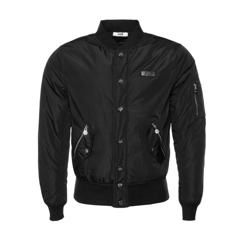 BALR. 10 Varsity Jacket Black
