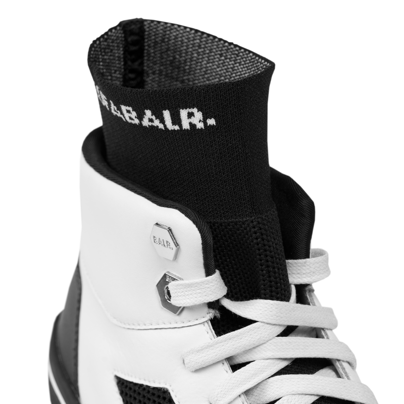 Mesh Panelled High-Top Sneakers – BALR