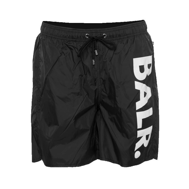 Big Brand Swim Shorts Black Front
