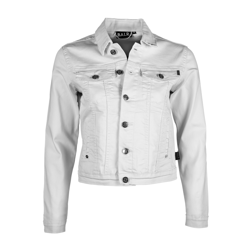 Women Denim Jacket White