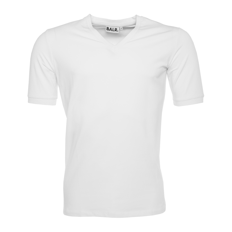 V-Neck Shirt White