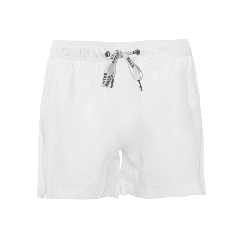 LIFEOFABALR. Swim Shorts White