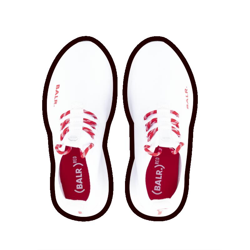 BALR. (BALR.)RED EE Premium Sock Sneakers V2 White Up