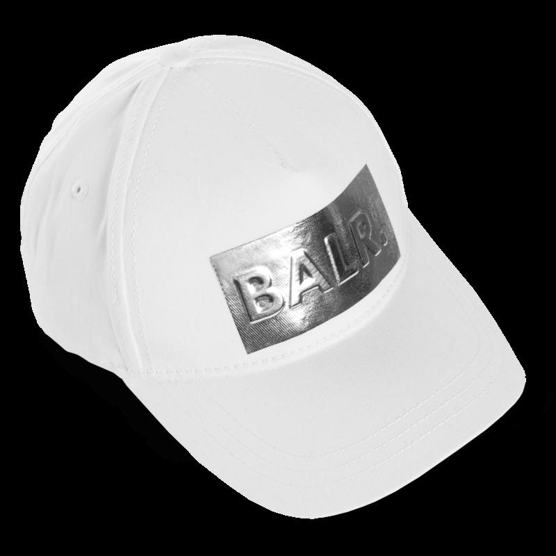 Silver Club Cap White