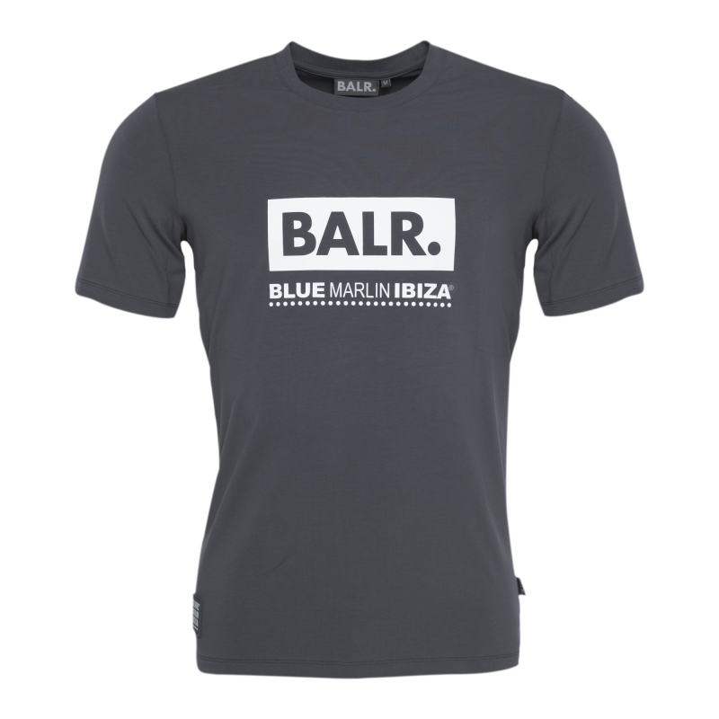 BALR. x BMI Club T-Shirt Grey