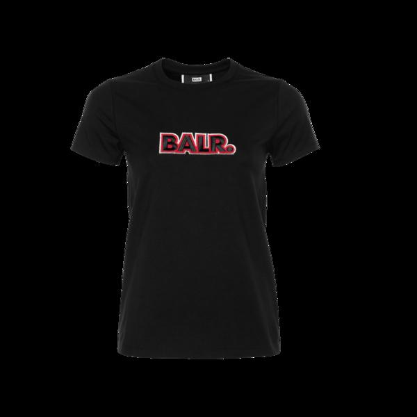 Voorkant BALR. Embroidered T-Shirt Women