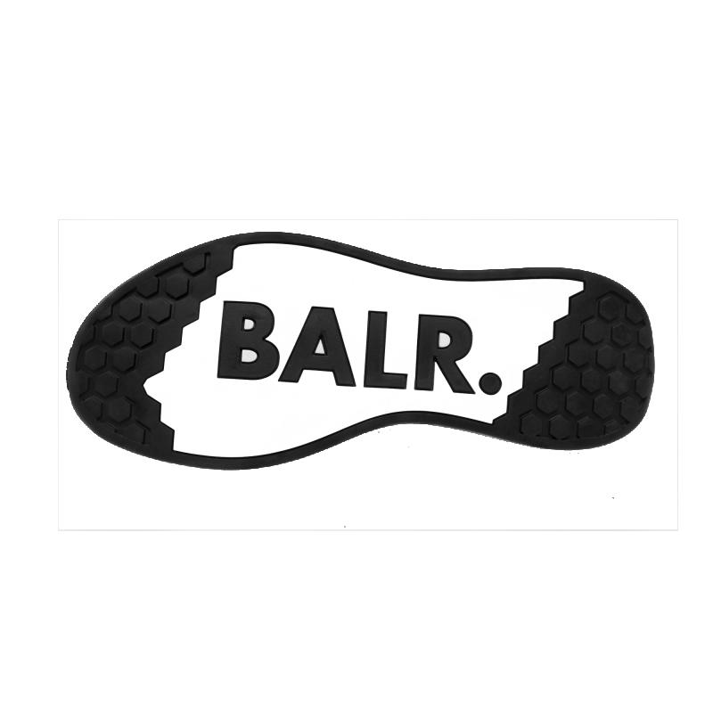 BALR. (BALR.)RED EE Premium Sock Sneakers V2 White Under