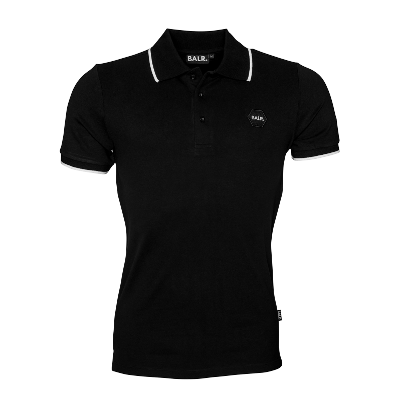 Black Badge Polo Front