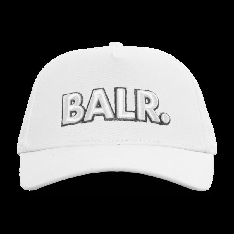 BALR. big logo cap white