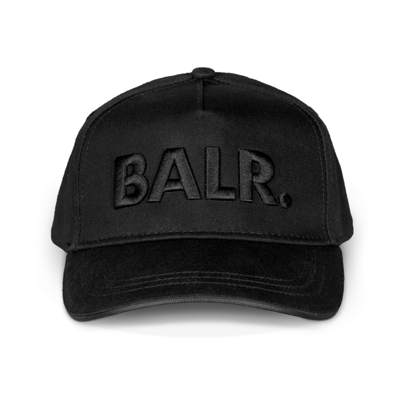 Classic Cotton Cap Black on Black