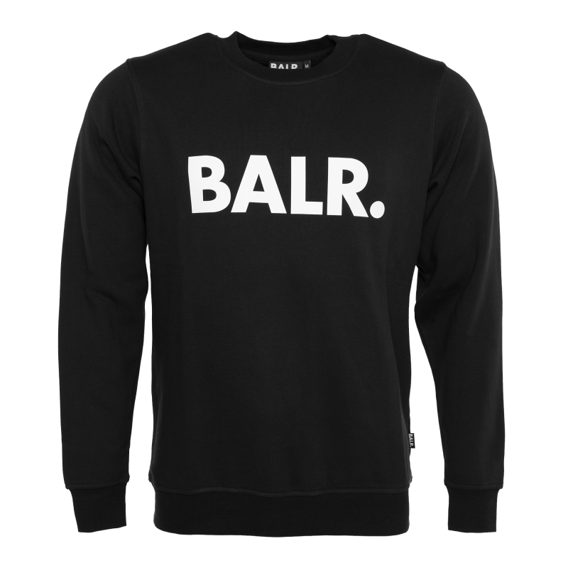 Black Crew Neck Sweater Black