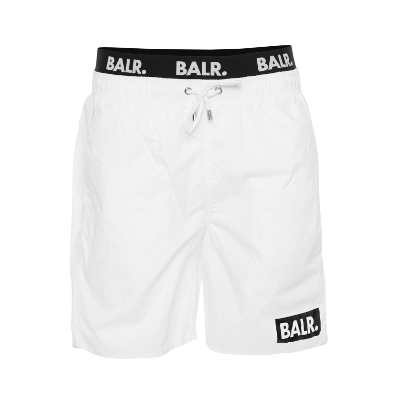 Club Trunks Swim Shorts White Front