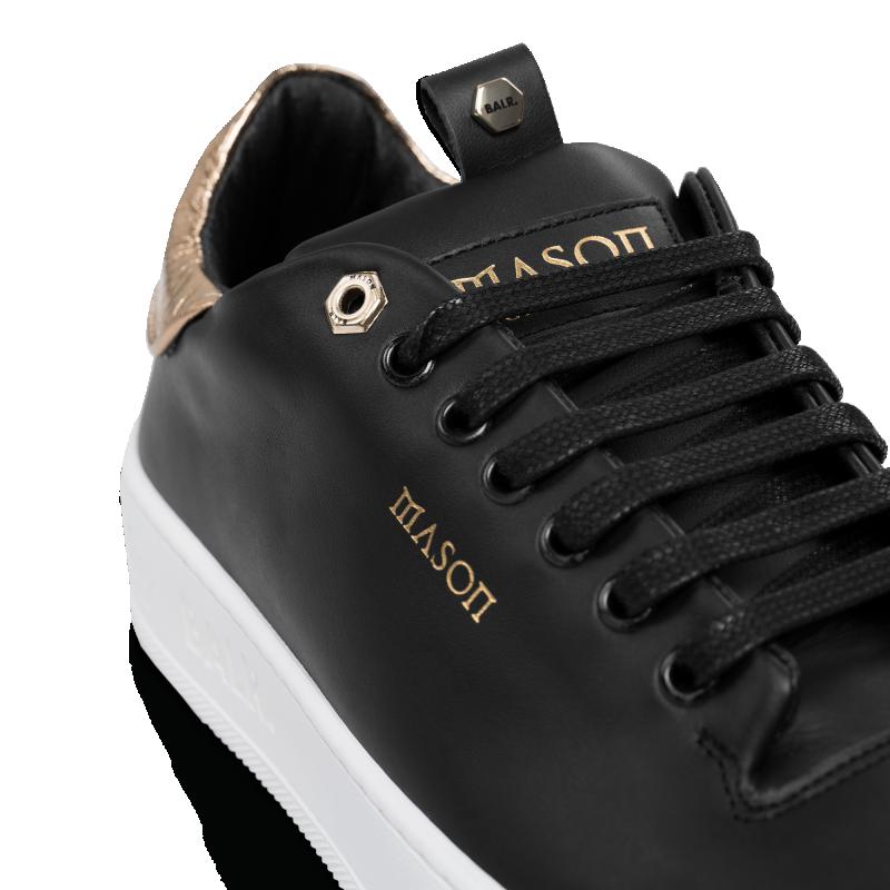Detail BALRxMasonGarments Roma Sneakers Zwart
