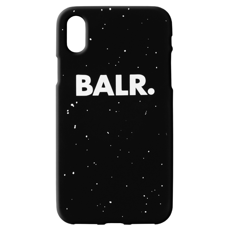 Splatter Silicone iPhone X Case