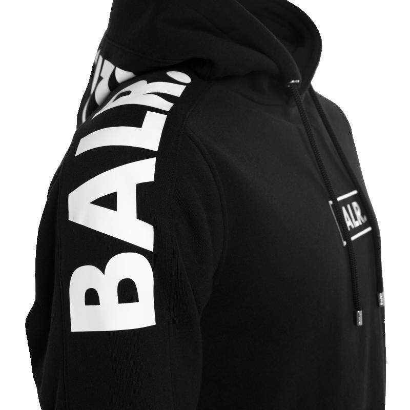 BALR. Contrast Hoodie Black Details
