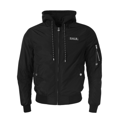 Double Hooded Bomber Jacket