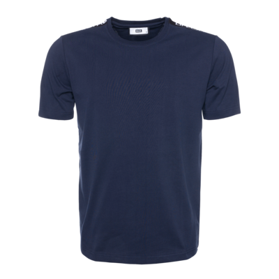 Black Label - LIFEOFABALR. Tape T-Shirt Navy