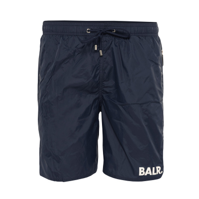 BALR. Mid-Length Swim Shorts Navy