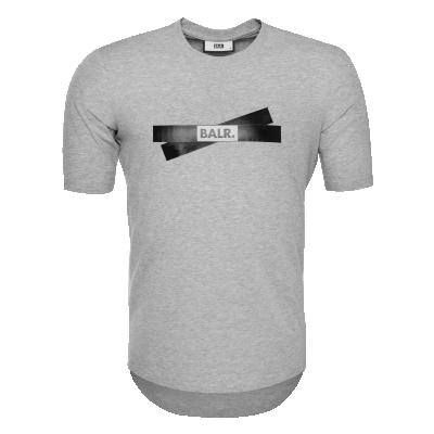 Tape Logo T-Shirt Grijs