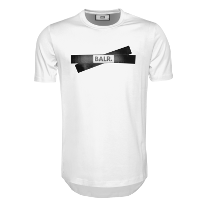Tape Logo T-Shirt White