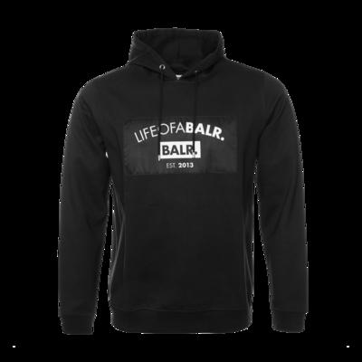 LIFEOFABALR. Club Hoodie Zwart
