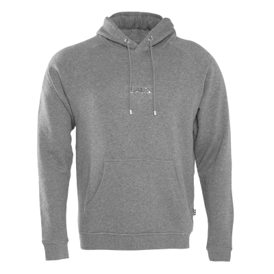 Front Pouch Hoodie Grey
