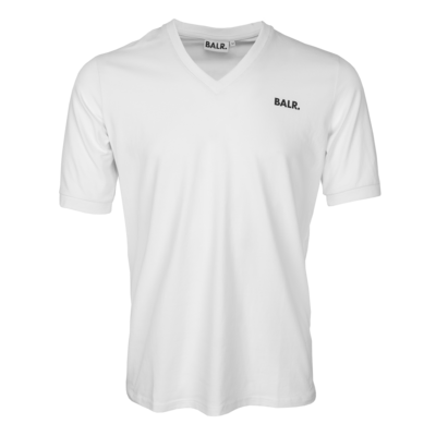 BALR. classic v-neck athletic t-shirt White