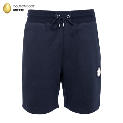 Q-Series Metal Hexagon Badge Shorts Navy