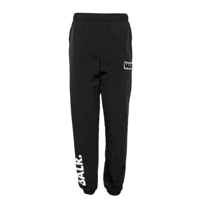 Rubber Logo Trackpants Zwart
