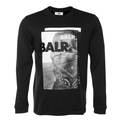 Black Label - Bandana Long Sleeve T-Shirt Black