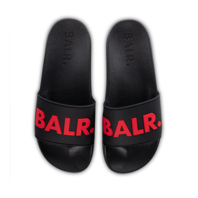 BALR. Slider Black/Red