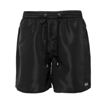 Camo Stripe Swim Shorts Zwart