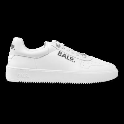 BALR. Metal Logo Sneaker White/Silver