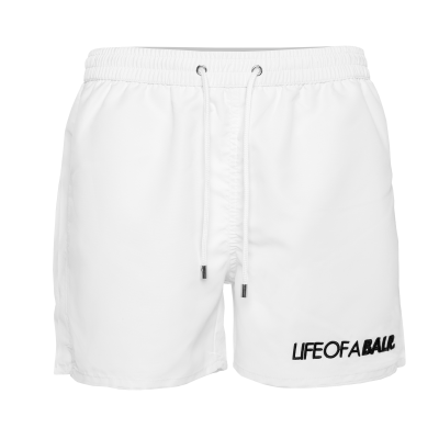 Embroidered LOAB Swim Shorts Wit