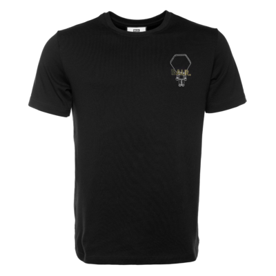 BALR. Hexagon Doll Straight T-Shirt Noir
