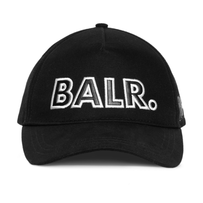 BALR. embro patch cap Zwart