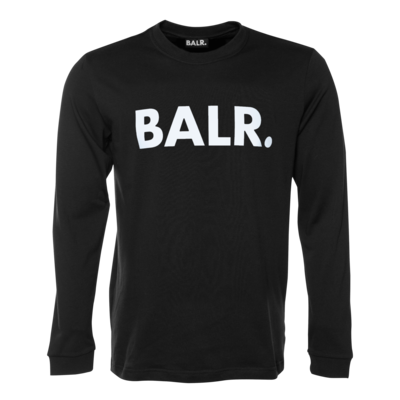 BALR. Brand Athletic long sleeve T-Shirt Black
