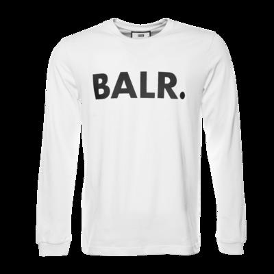 BALR. Brand Athletic long sleeve T-Shirt White