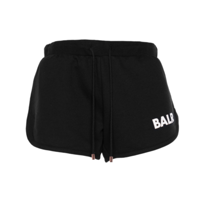 Brand Shorts Women Zwart