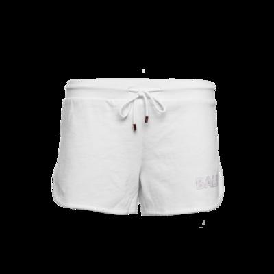 Brand Shorts Women Weiß